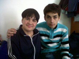 marioara and son